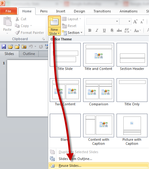 364 avoiding the mess of combining powerpoint presentations work